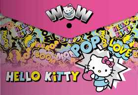 Hello Kitty - Carry Folder/Document Wallet