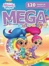 Shimmer & Shine - 120pg Mega Colour & Activity Book