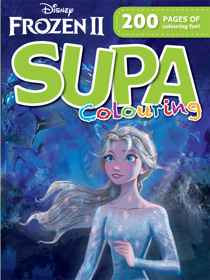 Disney Frozen 2 - 200pg Supa Colour & Activity Book