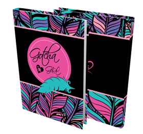 Gotcha Girls - A4 Precut Book Cover - 5 Pack