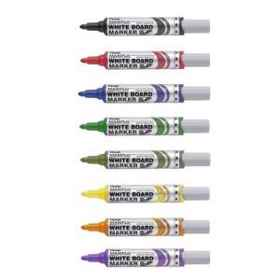 Pentel MWL5 Maxiflo Whiteboard Set 6