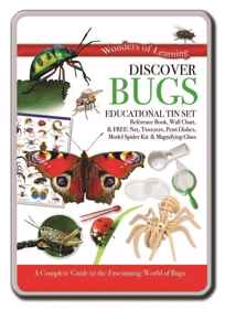 Wonders Of Learning Tin Set - Bugs
