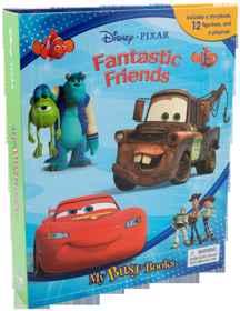 Disney Pixar - Fantastic Friends - My Busy Book