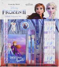 Disney Frozen 2 - School Stationery Set