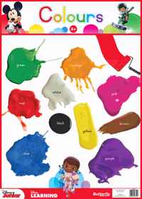 Dinsey Junior - Wallchart Colours