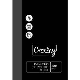 Croxley JD424 A6 Index Book 144PG