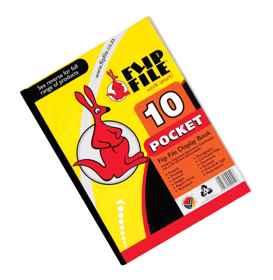 Flip File A4 10 Page Kangaroo
