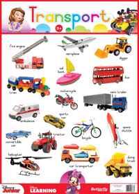 Disney Junior - Wallchart Transport