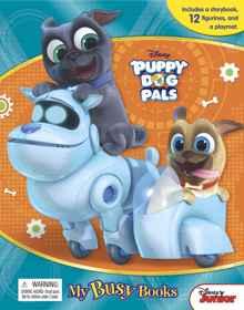Disney Puppy Dog Pals - My Busy Book