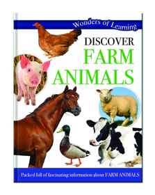 Wonders Of Learning Book - Farm Animals