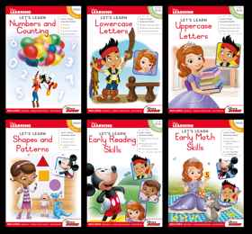 Assorted - Disney Let's Learn 80pg