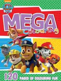 Paw Patrol - 120pg Mega Colour & Activity Book