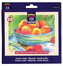 Kid Art Oil Pastels 25's