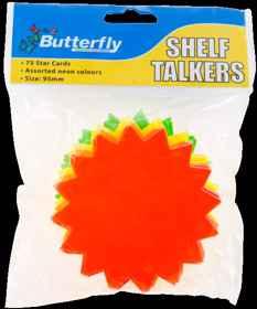 Shelf Talkers - Card Stars 75 (95mm)