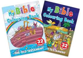 Assorted - My Bible Colouring Books