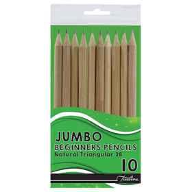Treeline Jumbo Beginners pencils 10's
