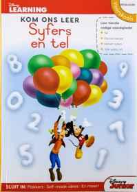 Disney Kom Ons Leer - 80pg Syfers En Tel