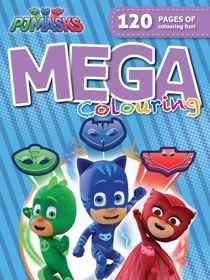 PJ Masks - 120pg Mega Colour & Activity Book