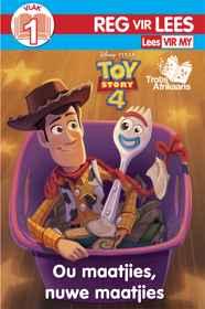 Disney Toy Story 4 - RVL Vlak 1 - Ou Maatjies, Nuwe Maaitjies