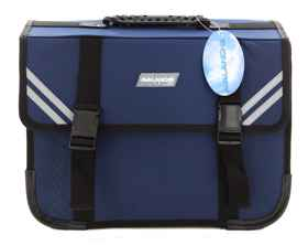 Avalanche Standard Student Suitcase - 7 Compartment - Blue