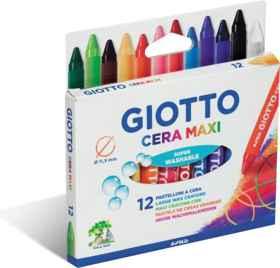 Giotto Cera Maxi Wax Crayons