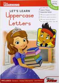 Disney Let's Learn - 80pg Uppercase Letters
