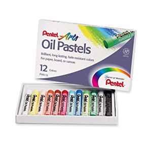 Pentel Oil Pastels 12 Colour
