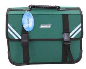 Avalanche Standard Student Suitcase - 7 Compartment - Green