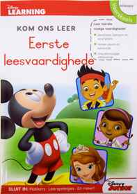 Disney Kom Ons Leer - 80pg Eerste Leesvaardighede