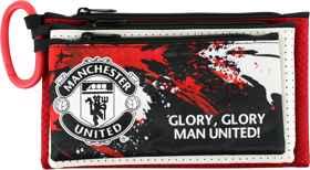 Man United - 3 Compartment Pencil Case 23cm