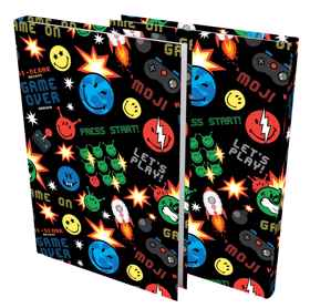 Moji - A4 Precut Book Cover - 5 pack
