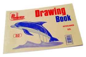 Drawing Bk A3l 32PG Tissu