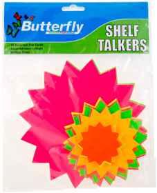 Shelf Talkers - Stars Assorted 50