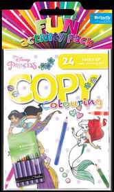 Disney Princess - Hanging Colouring Pack