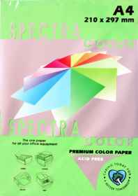 A4 Bright Paper - Pack of 500 Dark Green (IK230)