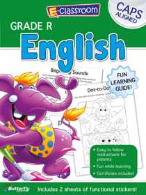 E-Classroom Workbooks - English - Gr R