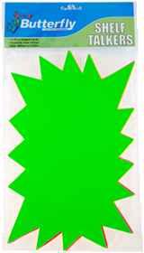 Shelf Talkers - Hi Lighter Shape Cards 10 (304 x 208mm)