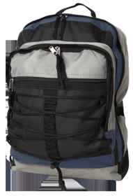 Student Laptop Backpack (VSC) - Black-Grey-Navy