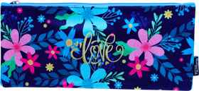 Butterfly Pencil Case - Designed - Flat 33cm Girls