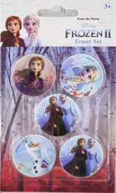 Disney Frozen 2 - 5 Pack Eraser Set