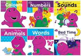 Assorted - Barney Board Book