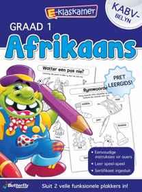E-Klaskamer Werkboek - Afrikaans - Gr 1
