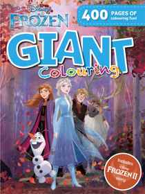 Disney Frozen 2 - 400pg Giant Colouring Book