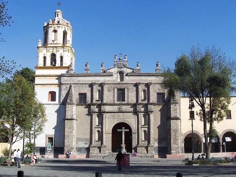 iglesia del Centro de Coyoacán CDMX
