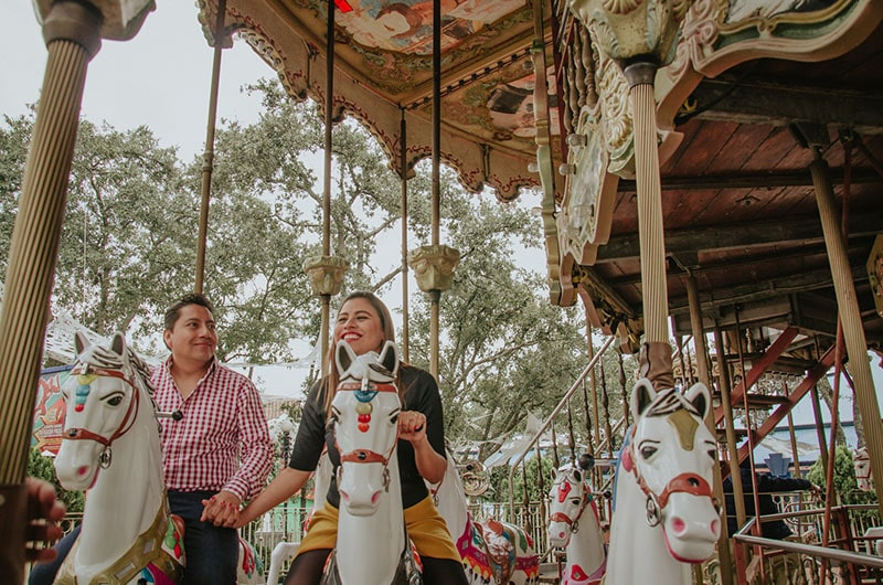 Fotos de Boda en Six Flags CDMX