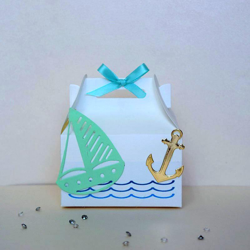 dulcero para bautizo con temática de marinerito_dulcero para bautizo de niño