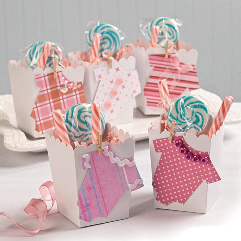 bolsa de dulces decorara para bautizo de niña
