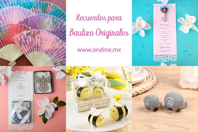 Recuerdos para bautizo originales de Ondine Collection