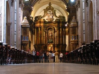 Interior de la Catedral Metropolitana CDMX