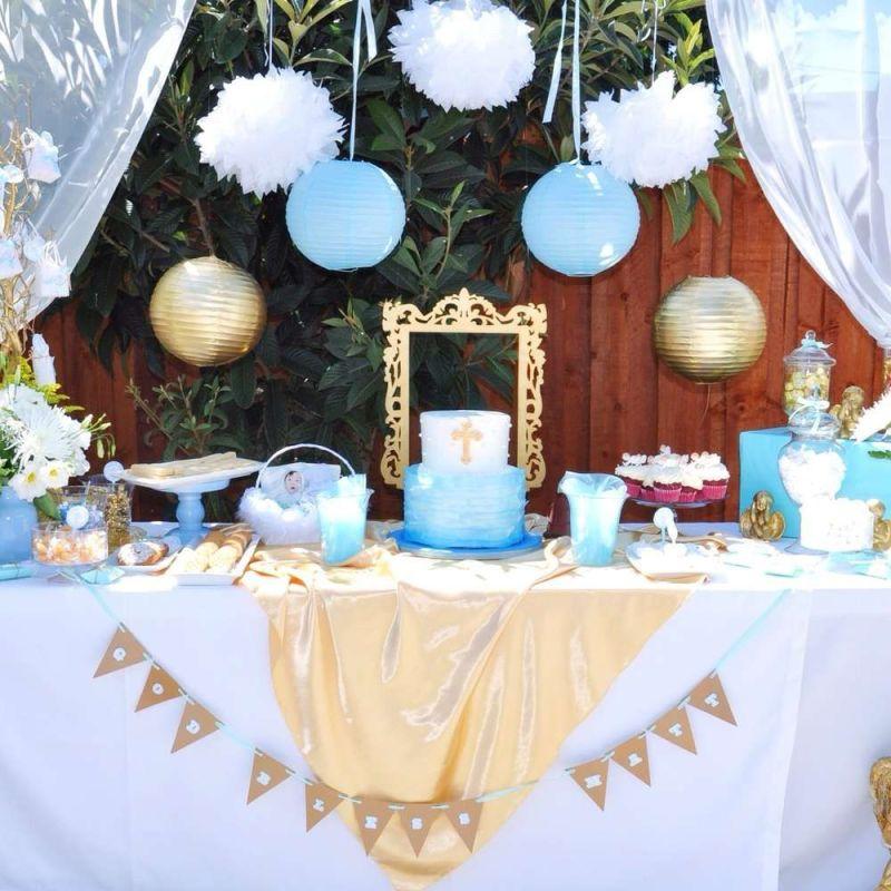 mesa_de_dulces_bautizo_niño_azul_dorado_golden_elegante_bonita